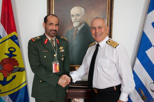 Υπεγράφη Πρόγραμμα Στρατιωτικής Συνεργασίας Ελλάδας - ΗΑΕ