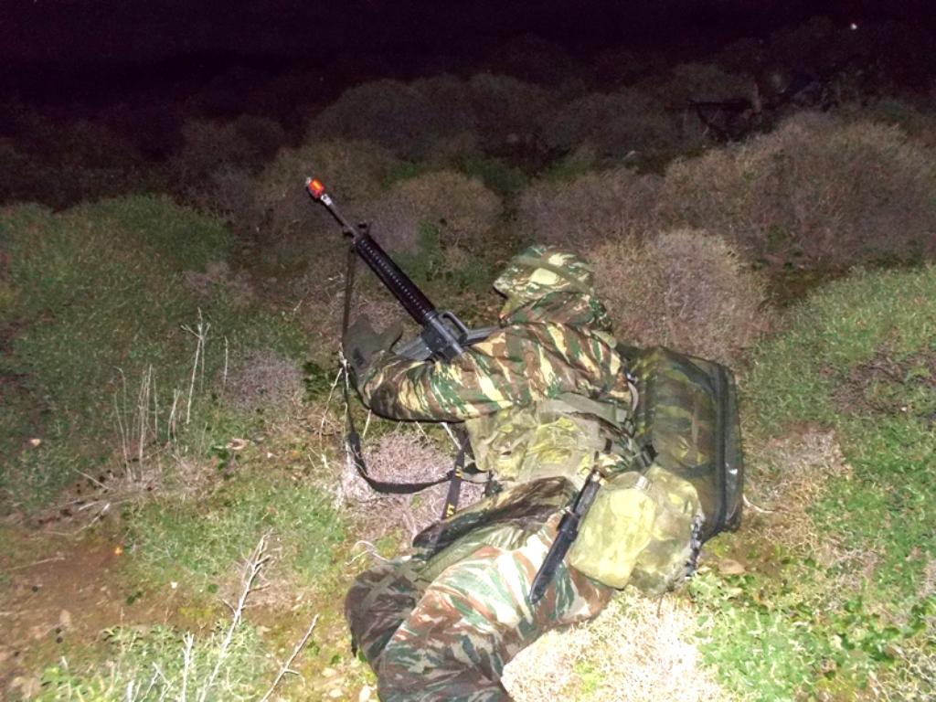 Τα κομάντο της 13ης ΔΕΕ βγήκαν νύχτα στα νησιά του Αιγαίου - ΦΩΤΟ