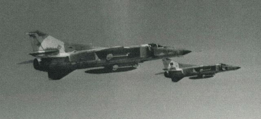 F-14: Όταν τα διαβόητα Tomcat κατέρριψαν τα μαχητικά Su-22 και MiG-23 του Καντάφι