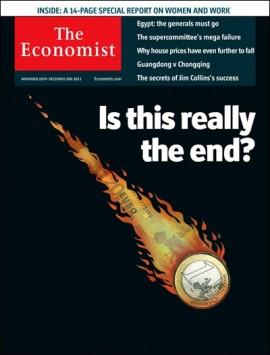 Economist: Ερχεται το τέλος του ευρώ;