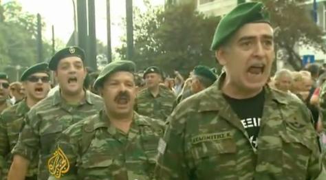 `Μαζί,μαζί να φύγουν οι ναζί`! φώναζαν `πρασινοσκούφηδες`  στη συγκέντρωση.ΒΙΝΤΕΟ