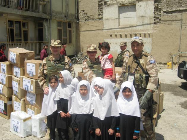 Έλληνες στο αφγανιστάν,τέλος