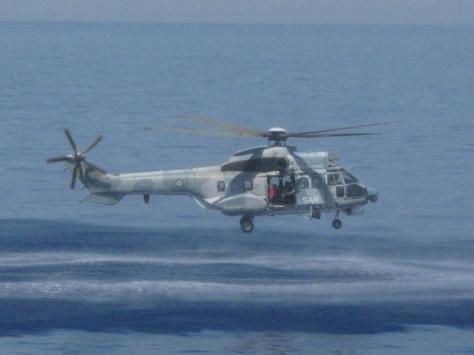 Θρίλερ με ελικόπτερο Super Puma
