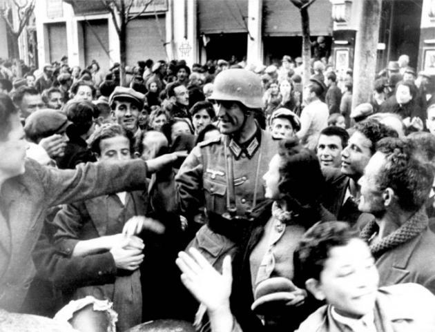 Οι Ναζί καταλαμβάνουν τη Θεσσαλονίκη – ΦΩΤΟ – ΒΙΝΤΕΟ
