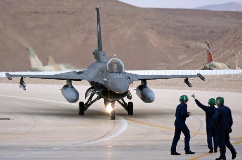 Ισραηλινά F 16 στη Λάρισα,για άσκηση με την Ελληνική ΠΑ