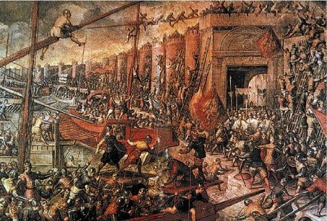 Η πρώτη Άλωση της Κωνσταντινούπολης το 1204