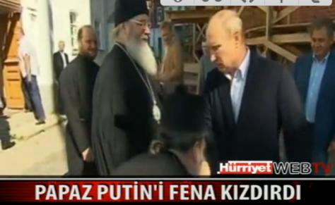 Ο `πατερούλης` Βλαδίμηρος Πούτιν.Παπάδες του φιλάνε τα χέρια! Δείτε το βίντεο