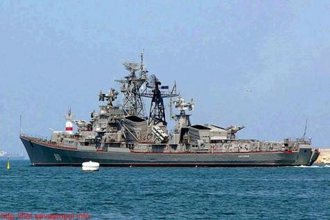 Βγήκε και καταδρομικό των Ρώσων στο Αιγαίο