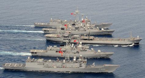 Τουρκική κορβέτα ...στην Εύβοια! Ο Νταβούτογλου έφυγε ο τουρκικός στόλος ήρθε!