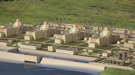Αυτό είναι το πυρηνικό εργοστάσιο της 'Ακκουγιου της Τουρκίας.