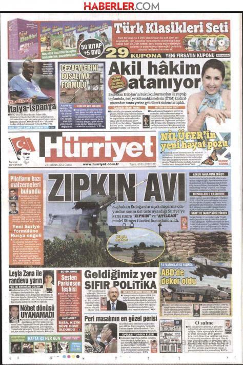 Hürriyet `η Άγκυρα τοποθέτησε αντιαεροπορικά συστήματα στα σύνορα με τη Συρία`