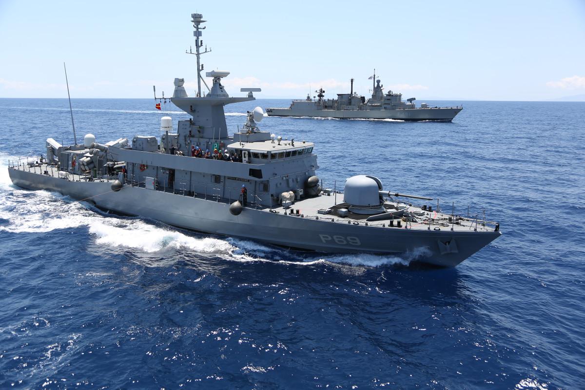 Αποτέλεσμα εικόνας για καταιγιδα 2017 ασκηση πολεμικου ναυτικου