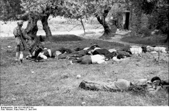 Γερμανική θηριωδία-Φωτογραφίες ντοκουμέντο από το Κοντομάρι