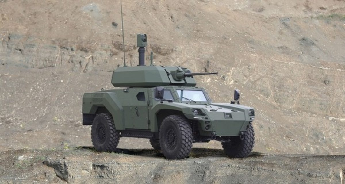 Τουρκία ηλεκτροκίνητο όχημα μάχης