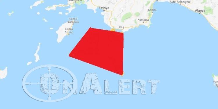 Ξεκινάει ενέργειες και στο Καστελόριζο η Τουρκία με NAVTEX που το διαγράφει από τον χάρτη