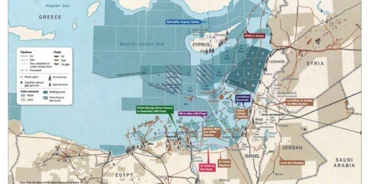 ΑΠΟΚΑΛΥΨΗ-ΣΟΚ!  Αυτός είναι ο χάρτης των ΗΠΑ για την ΑΟΖ της Κύπρου που έχει δει και ο Ερντογάν...