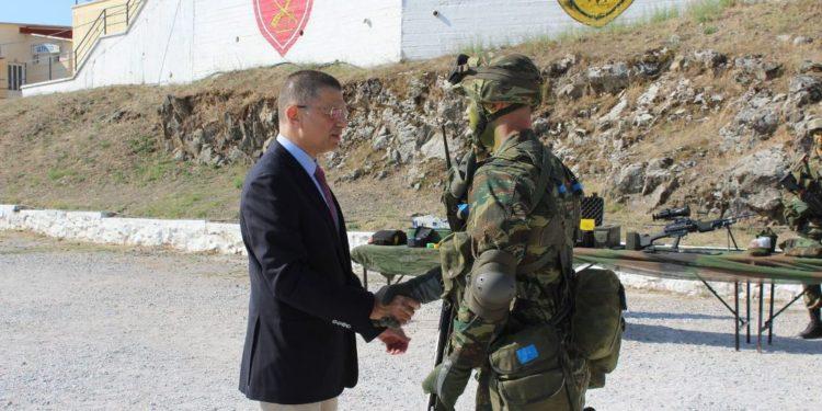 Στη Λέσβο βρέθηκε ο Υφυπουργός Άμυνας Αλκιβιάδης Στεφανής [pic]