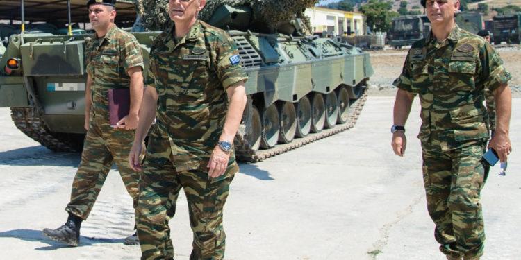 ΑΓΕΣ: Σε Θράκη και Σαμοθράκη ο Αντιστράτηγος Γεώργιος Καμπάς [pics]