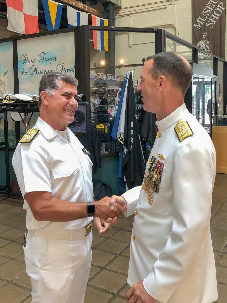 Ο Αρχηγός του Πολεμικού Ναυτικού επισκέφθηκε τον ομόλογο τους στις ΗΠΑ
