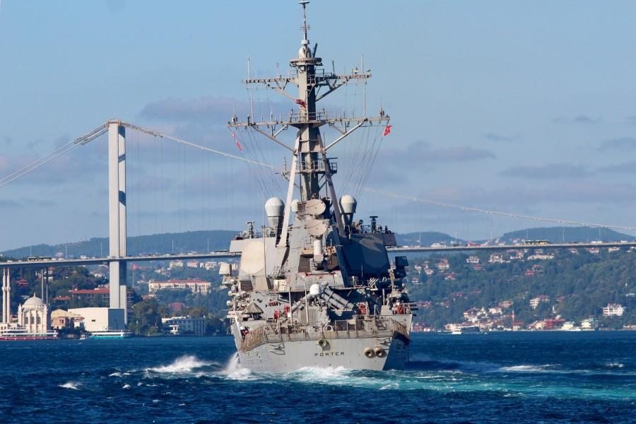 ΗΠΑ Πολεμικό Πλοίο