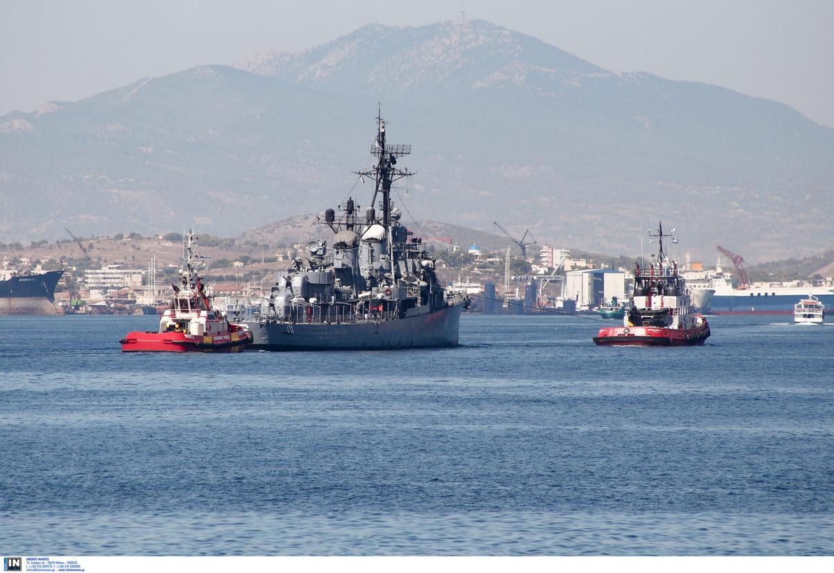 ΒΕΛΟΣ: Στη Θεσσαλονίκη το ιστορικό αντιτορπιλικό