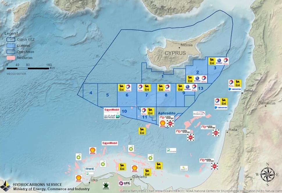 Κορυφώνονται οι προκλήσεις – Στην καρδιά της κυπριακής ΑΟΖ το Γιαβούζ [pic]