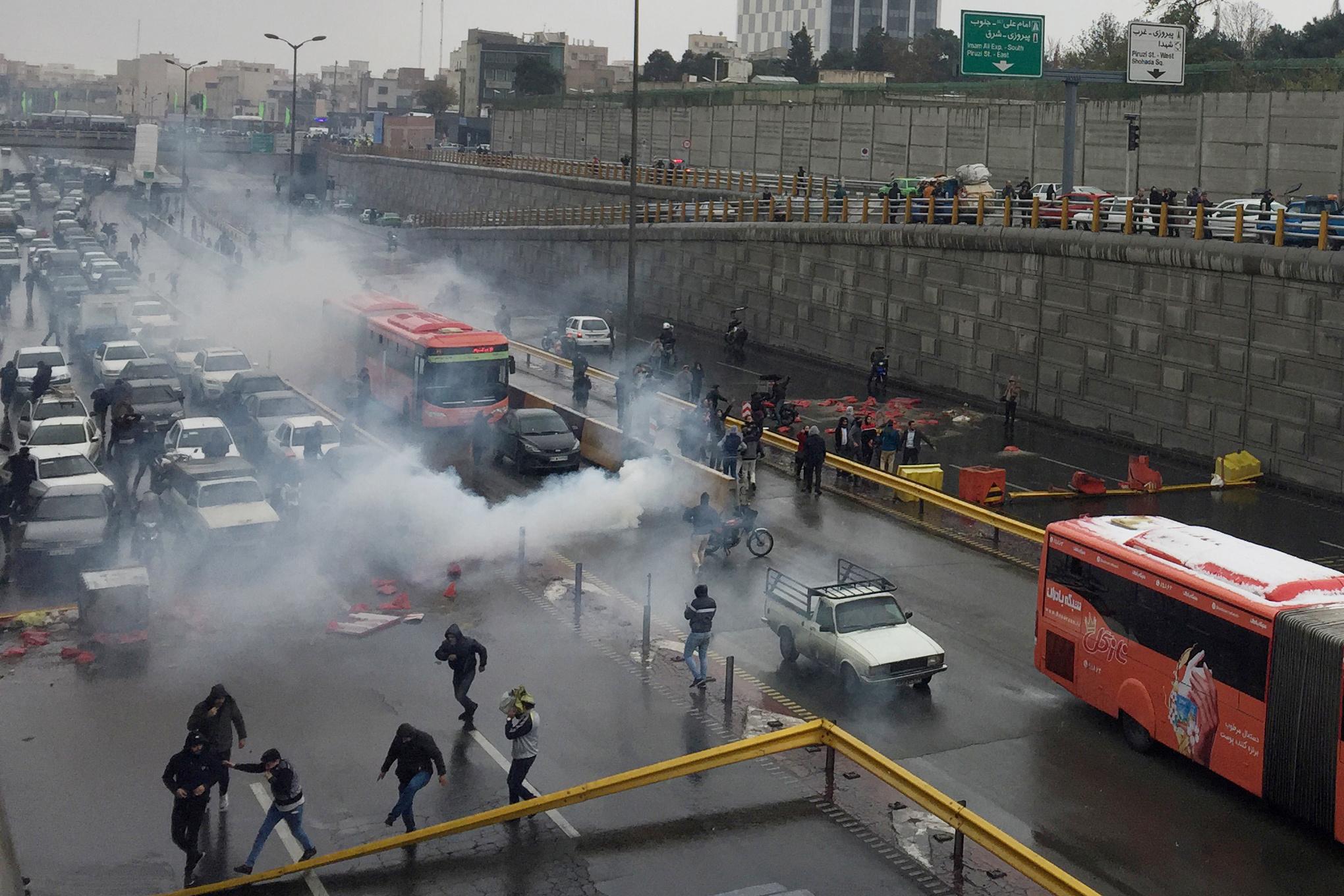 Ιράν - διαδηλώσεις