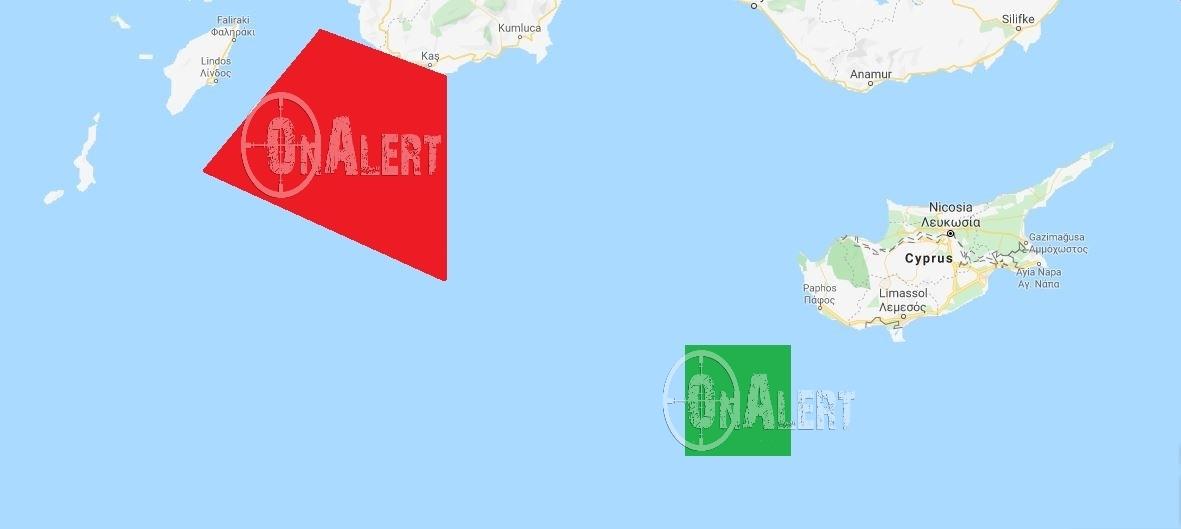Μετά το «θερμό» επεισόδιο η Τουρκία πραγματοποιεί και ναυτική άσκηση ανοικτά του Καστελλόριζου...