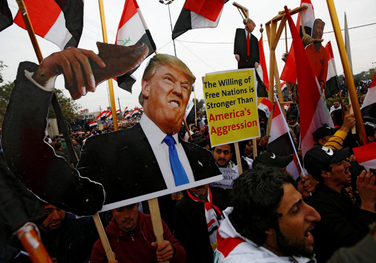 Ιράκ - διαδήλωση