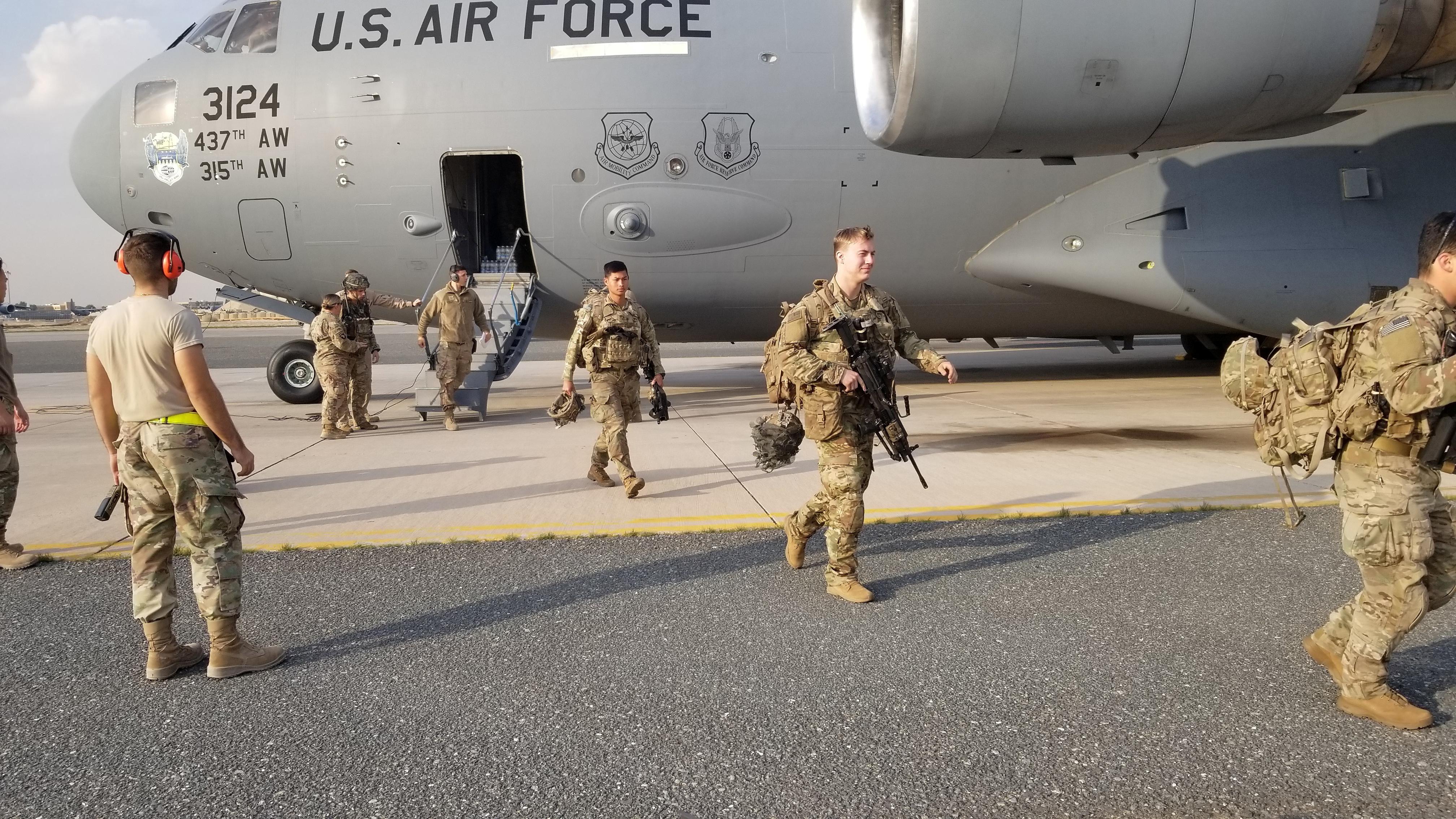 αμερικανικές δυνάμεις
