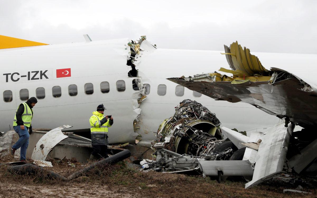 Τουρκία αεροπορικό δυστύχημα