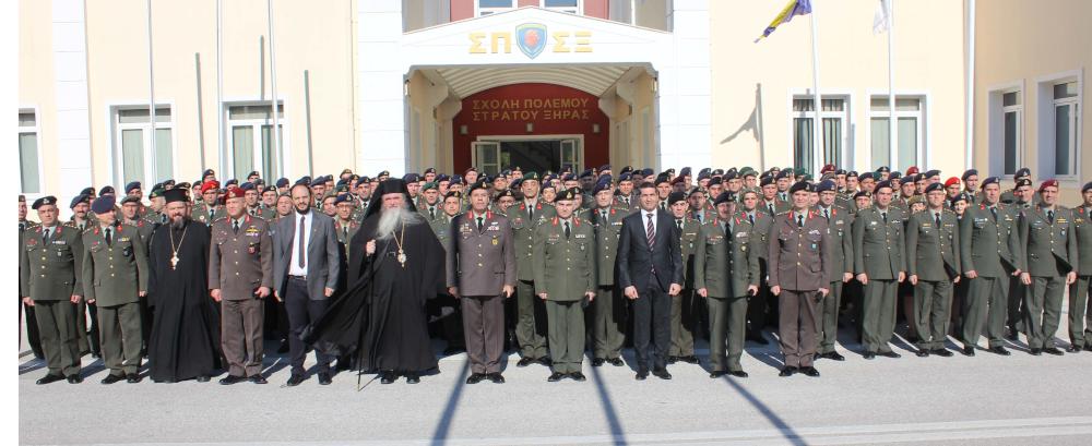 Σχολή Πολέμου Στρατού Ξηράς: Απονομή πτυχίων από τον ΑΓΕΣ, Χ. Λαλούση [pics]