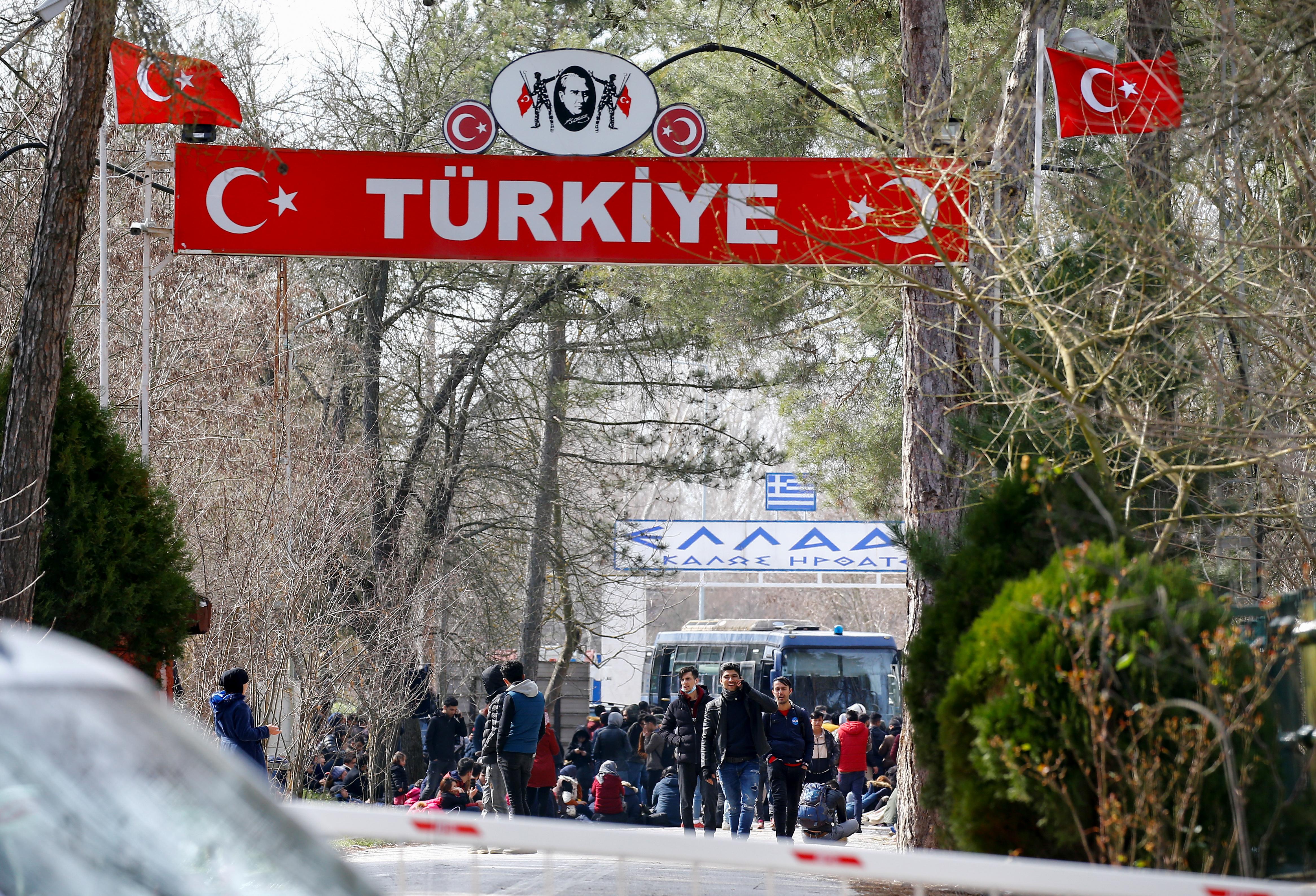 σύνορα Τουρκία Ελλάδα