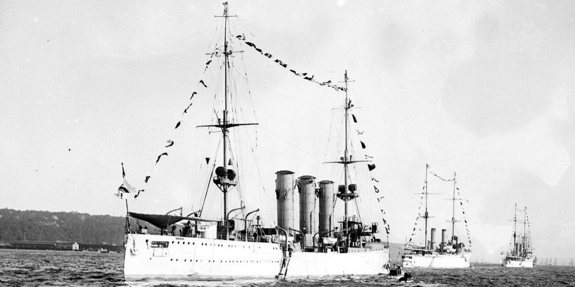 Σαν σήμερα: Το 1915 η Βρετανία βυθίζει το γερμανικό πολεμικό πλοίο «Δρέσδη»