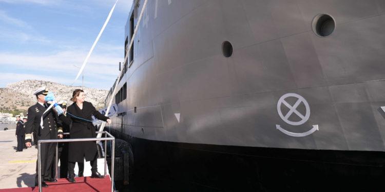 Νέο πλοίο δωρίζει η οικογένεια Λασκαρίδη στο Πολεμικό Ναυτικό