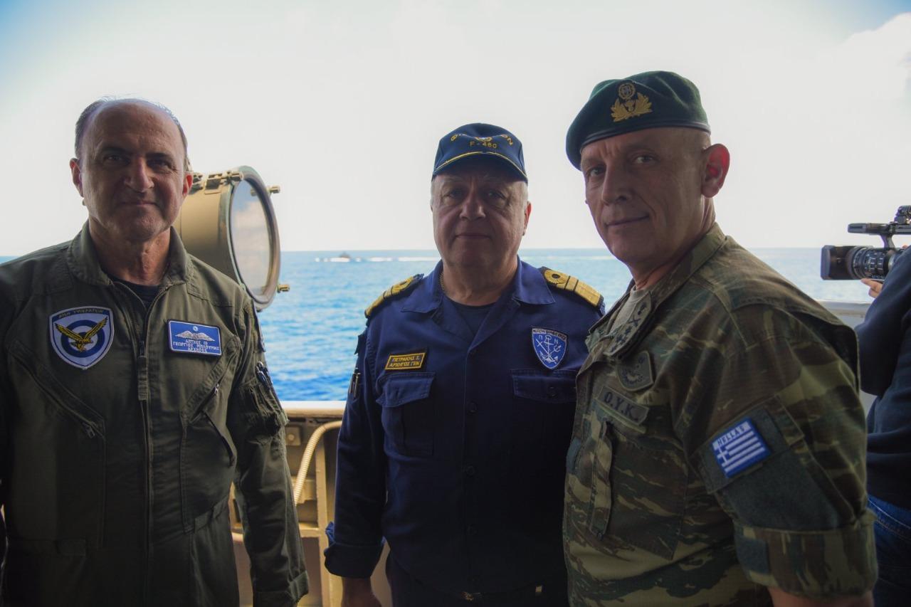 Πολεμική Αεροπορία και Ναυτικό στέλνουν από κοινού ένα μήνυμα προς κάθε αποδέκτη