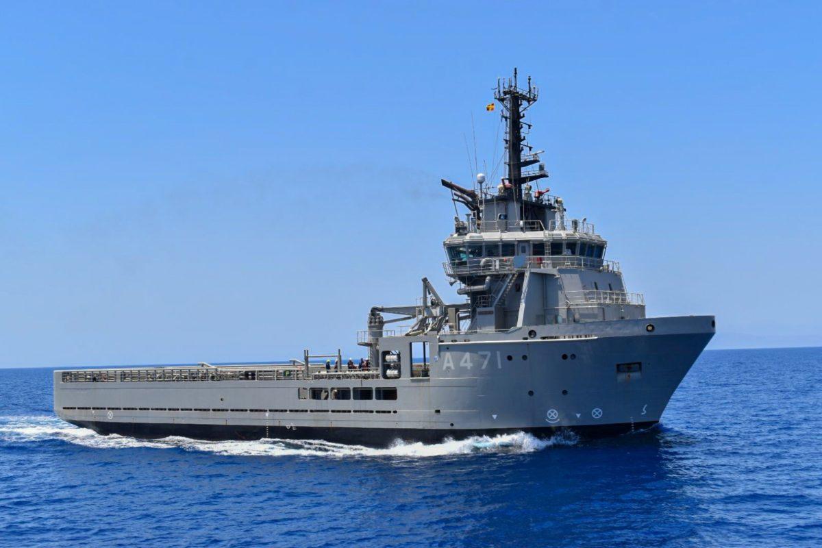 Πολεμικό Ναυτικό: Εντυπωσιακό παρών στο Κρητικό Πέλαγος με συμμετοχή του ΠΓΥ ΑΤΛΑΣ Ι (vid, pics)