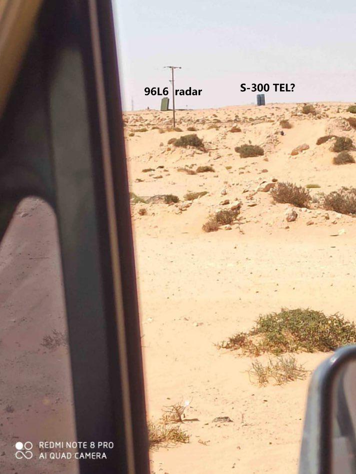 Λιβύη: Φωτογραφία-μυστήριο με S-300 σε περιοχή που ελέγχει ο Χάφταρ κοντά στη Σύρτη...