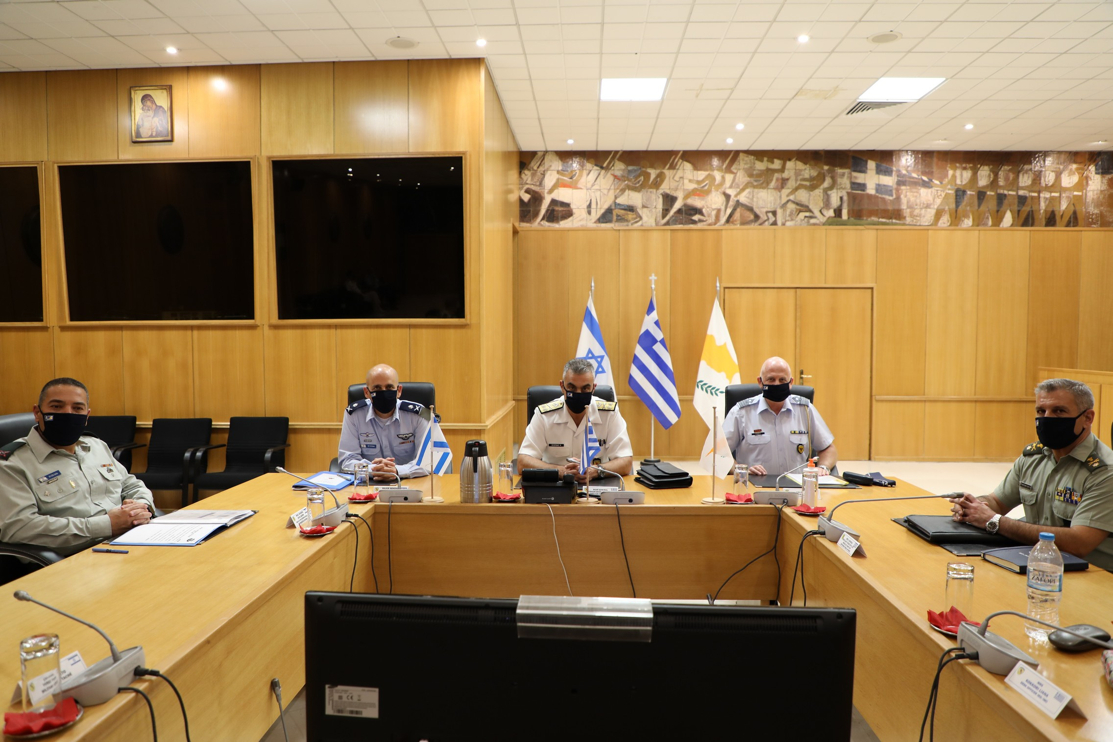 Υπεγράφη το πρόγραμμα τριμερούς στρατιωτικής συνεργασίας ανάμεσα σε Ελλάδα, Κύπρο και Ισραήλ