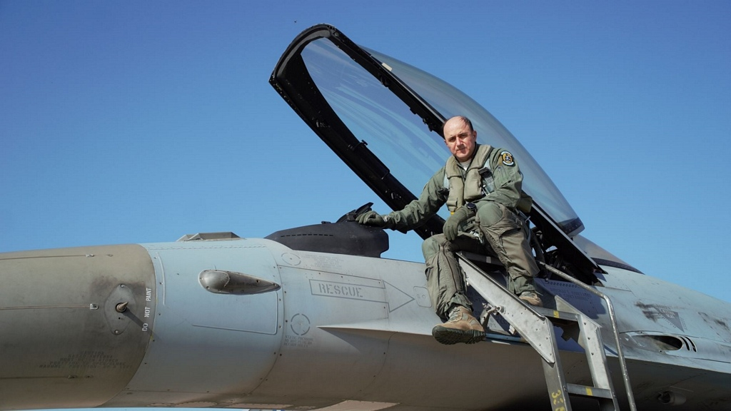 A/ΓΕΑ: Ο Αντιπτέραρχος Μπλιούμης στην 116 Πτέρυγα Μάχης – «Πέταξε» με μαχητικά F-16 [pics]