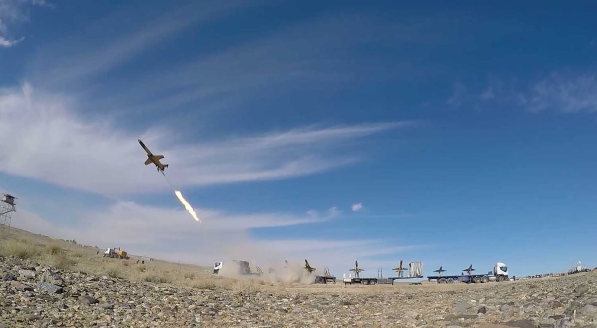Ιράν - άσκηση drones