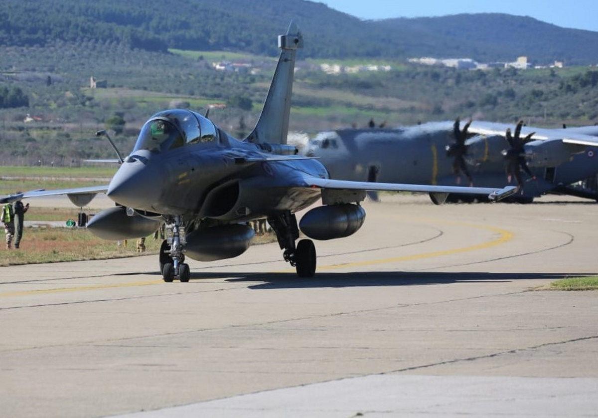 SKYROS-21: Τι είδαν από ψηλά οι Γάλλοι πιλότοι των Rafale