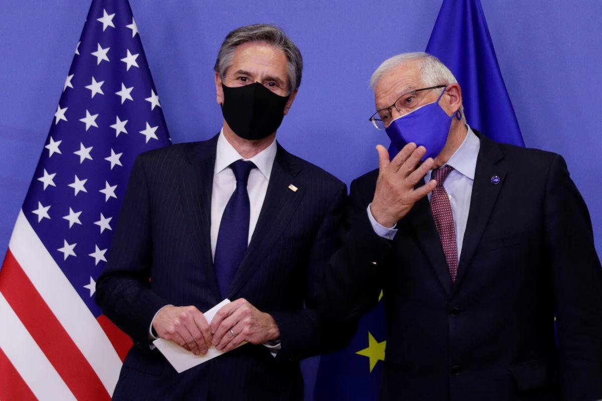 «Μήνυμα» Μπλίνκεν για αποκατάσταση και εκσυγχρονισμό σχέσεων ΗΠΑ – ΕΕ