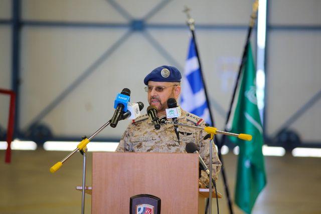ΓΕΕΘΑ: Συνάντηση Α/ΓΕΕΔ Σαουδικής Αραβίας με Στρατηγό Φλώρο στην 115 Πτέρυγα Μάχης [pics,vid]