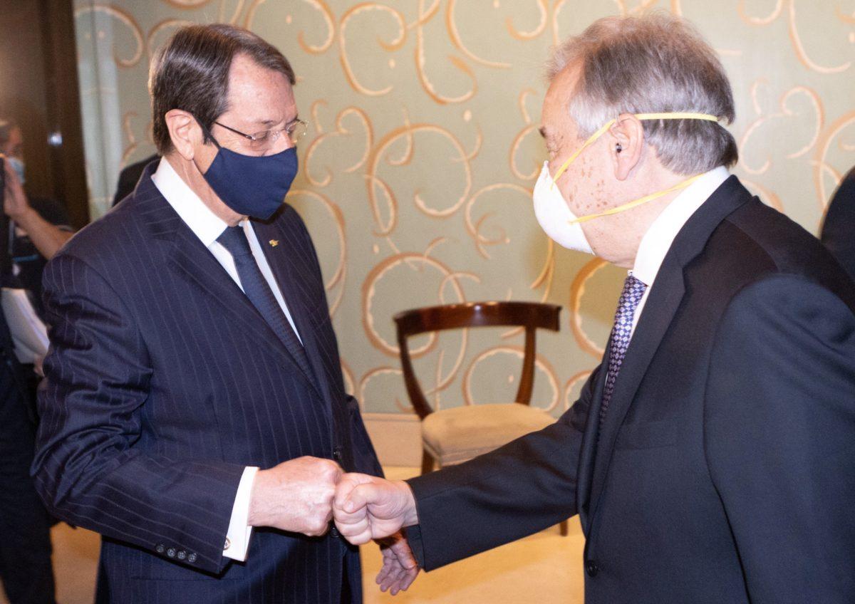 Κυπριακό: Συνομιλίες Αναστασιάδη- Γκουτιέρες και Νίκου Δένδια με αξιωματούχους του ΟΗΕ