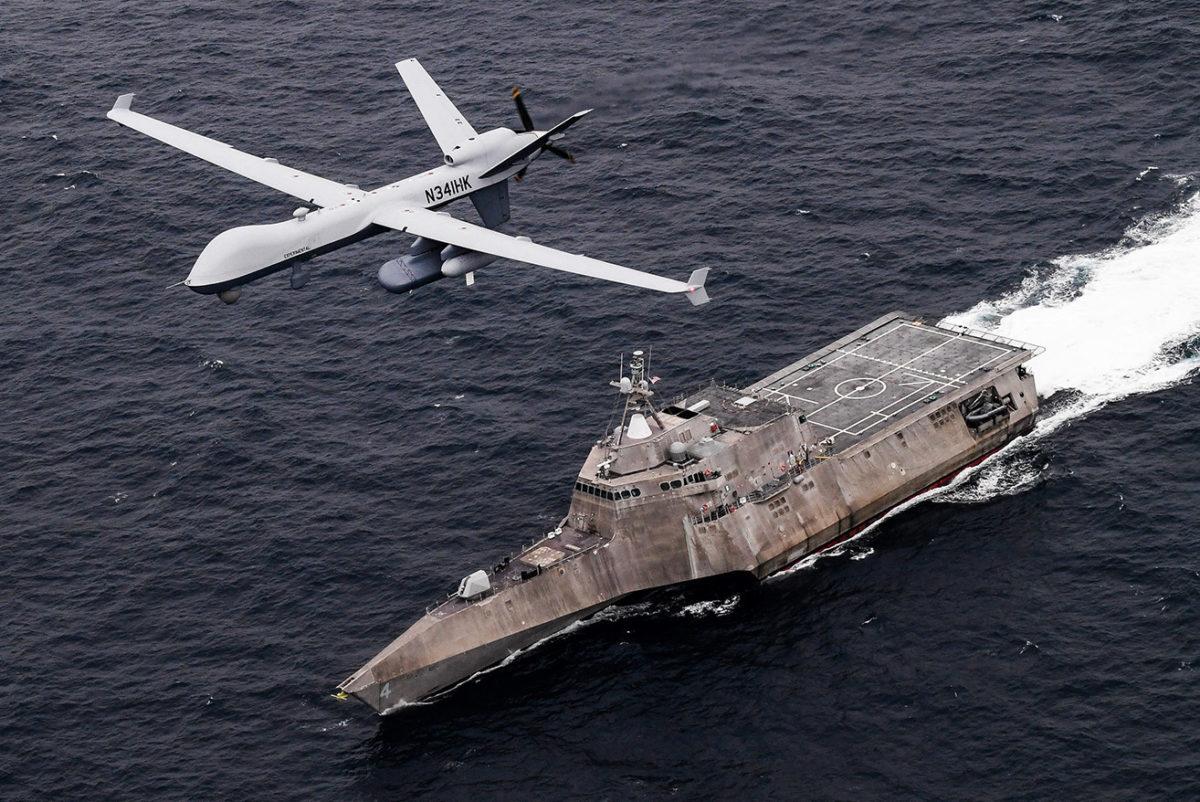 Sea Guardian: Είναι το νέο drone «gamechanger» για το Πολεμικό Ναυτικό των ΗΠΑ ; [pics]