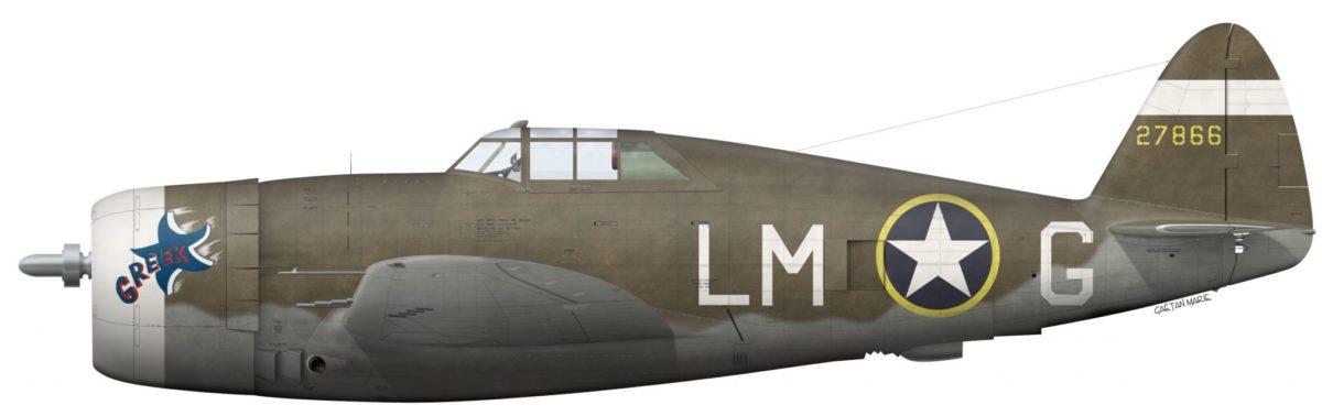 Το P-47D του Κορωνιού