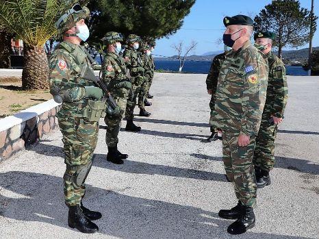Αρχηγός ΓΕΕΘΑ Κων.Φλώρος: «Έφοδος» σε φυλάκια και μονάδες των Ενόπλων Δυνάμεων στη Λέσβο [pics]