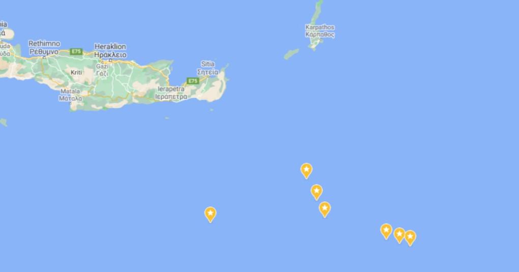 Η Άγκυρα «βλέπει τουρκική υφαλοκρηπίδα» νοτίως της Κρήτης και «χτυπά» με αντι-NAVTEX
