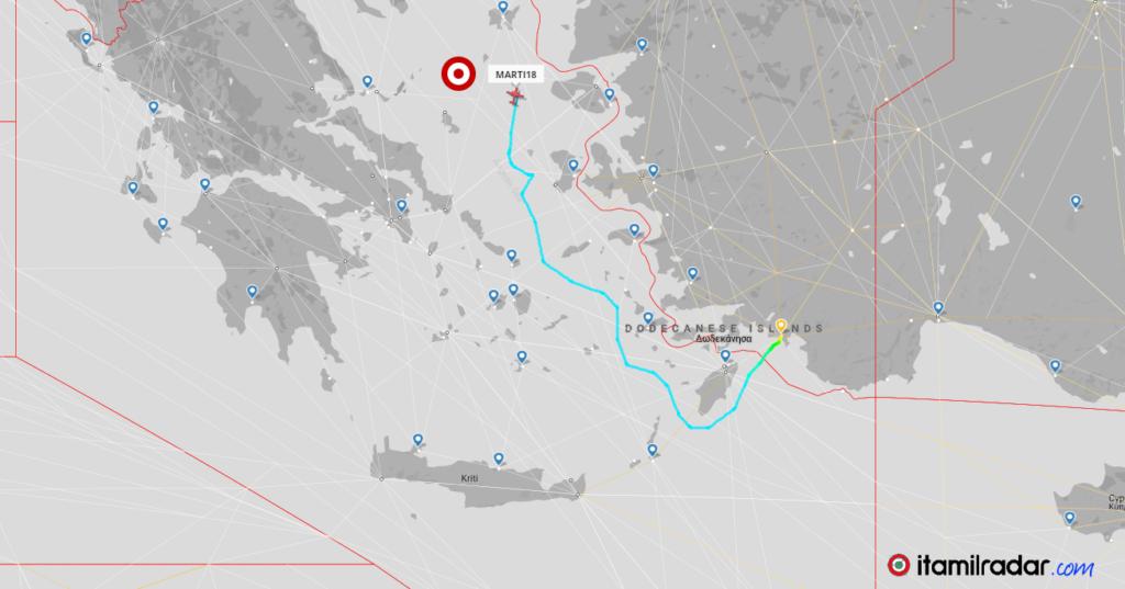 Αιγαίο: Από τις υπερπτήσεις των F-16 στις δεκάδες παραβιάσεις των ATR-72